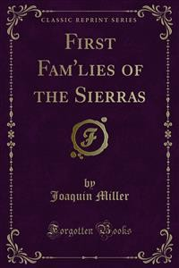 Cover First Fam'lies of the Sierras