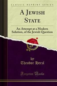 Cover A Jewish State
