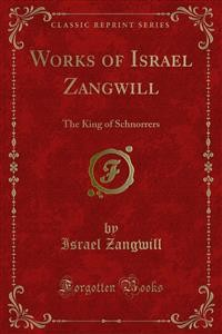 Cover Works of Israel Zangwill