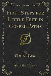 Cover First Steps for Little Feet in Gospel Paths