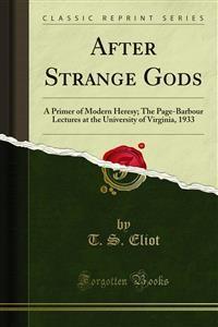 Cover After Strange Gods