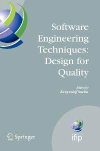 Cover Software Engineering Techniques: Design for Quality