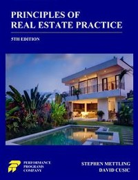 Cover Principles of Real Estate Practice