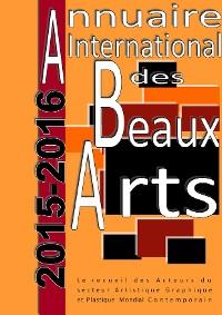 Cover Annuaire international des Beaux Arts 2015-2016