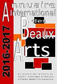 Cover Annuaire international des beaux-arts 2016-2017