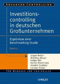 Cover Investitionscontrolling in deutschen Großunternehmen