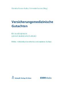 Cover Versicherungsmedizinische Gutachten