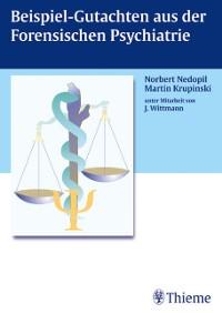 Cover Beispiel-Gutachten aus der Forensischen Psychiatrie