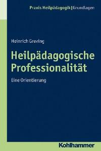 Cover Heilpädagogische Professionalität
