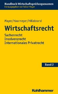 Cover Wirtschaftsrecht