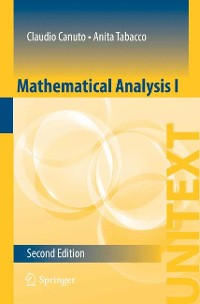 Cover Mathematical Analysis I