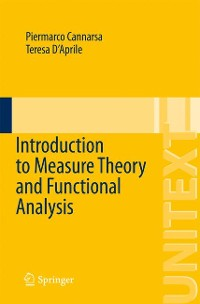 Cover Introduction to Measure Theory and Functional Analysis