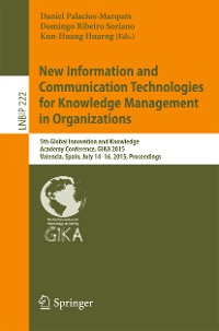 Cover New Information and Communication Technologies for Knowledge Management in Organizations