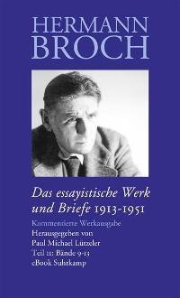Cover Das essayistische Werk und Briefe
