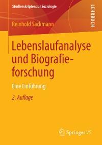 Cover Lebenslaufanalyse und Biografieforschung