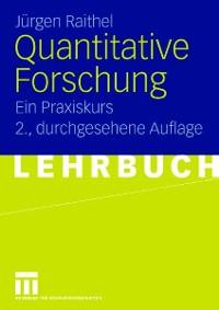 Cover Quantitative Forschung