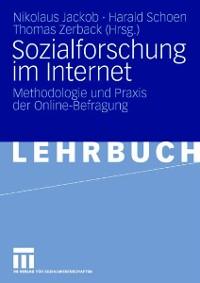 Cover Sozialforschung im Internet