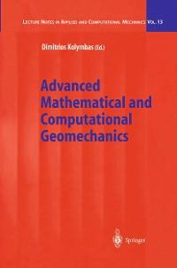 Cover Advanced Mathematical and Computational Geomechanics