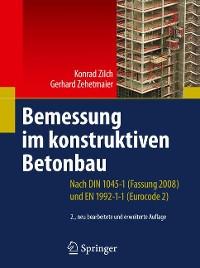 Cover Bemessung im konstruktiven Betonbau