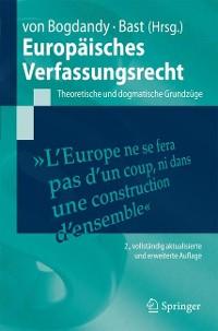 Cover Europäisches Verfassungsrecht