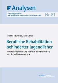 Cover Berufliche Rehabilitation behinderter Jugendlicher