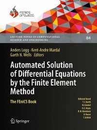 Cover Automated Solution of Differential Equations by the Finite Element Method