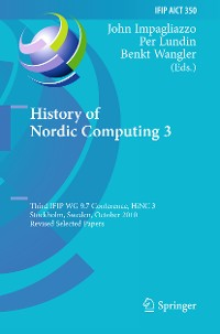 Cover History of Nordic Computing 3