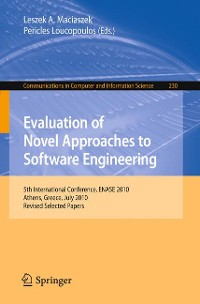 Cover Evaluation of Novel Approaches to Software Engineering