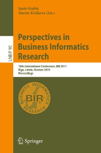 Cover Perspectives in Business Informatics Research