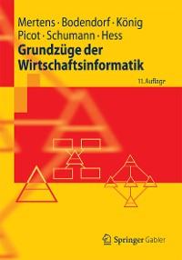 Cover Grundzüge der Wirtschaftsinformatik