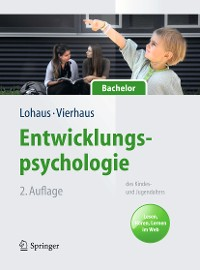 Cover Entwicklungspsychologie des Kindes- und Jugendalters für Bachelor