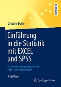 Cover Einführung in die Statistik mit EXCEL und SPSS