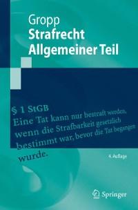 Cover Strafrecht  Allgemeiner Teil