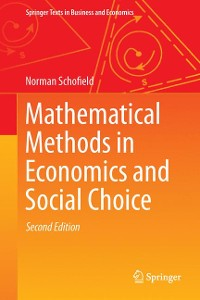 Cover Mathematical Methods in Economics and Social Choice