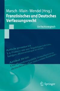 Cover Französisches und Deutsches Verfassungsrecht