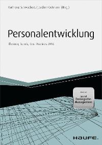 Cover Personalentwicklung 2016 Themen, Trends, Best Practices