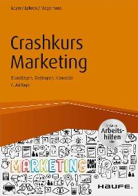 Cover Crashkurs Marketing - inkl. Arbeitshilfen online
