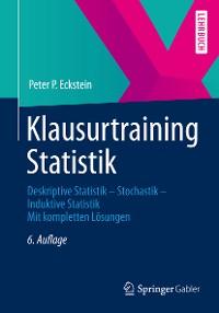 Cover Klausurtraining Statistik