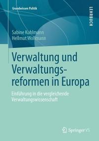 Cover Verwaltung und Verwaltungsreformen in Europa