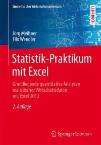 Cover Statistik-Praktikum mit Excel