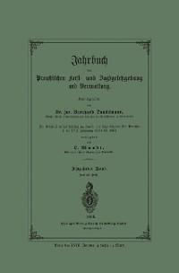 Cover Jahrbuch der Preußischen Forst- und Jagdgesetzgebung und Verwaltung