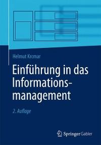 Cover Einführung in das Informationsmanagement
