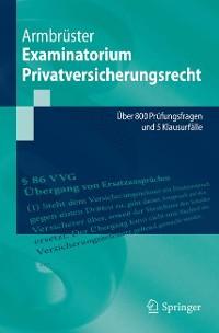 Cover Examinatorium Privatversicherungsrecht