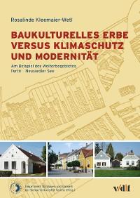 Cover Baukulturelles Erbe versus Klimaschutz und Modernität