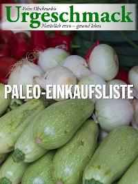 Cover Urgeschmack Paleo Einkaufsliste