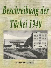 Cover Beschreibung der Türkei 1940
