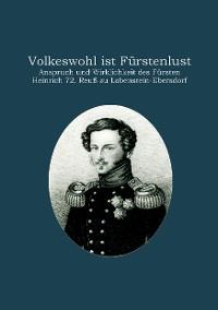 Cover Volkeswohl ist Fürstenlust