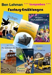 Cover Fantasy-Erzählungen