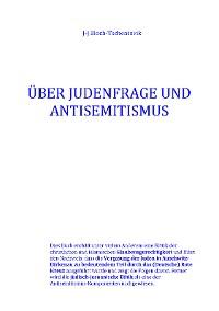 Cover Über Judenfrage und Antisemitismus