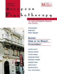 Cover European Psychotherapy 2014/2015